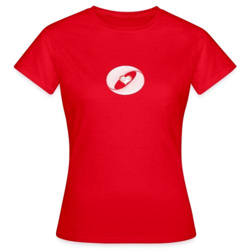 heart design -EDL-psy - Frauen T-Shirt