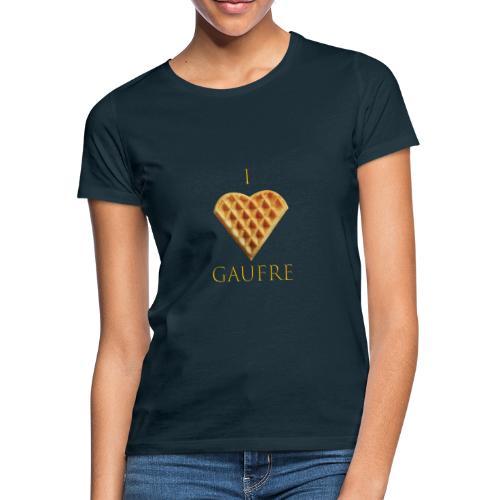 i love gaufre - T-shirt Femme