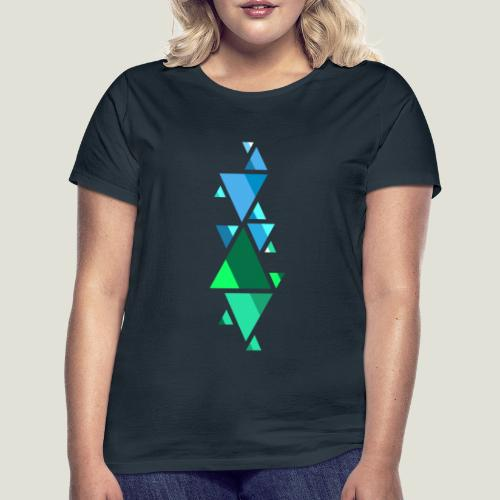 Shaped Fonts - Frauen T-Shirt