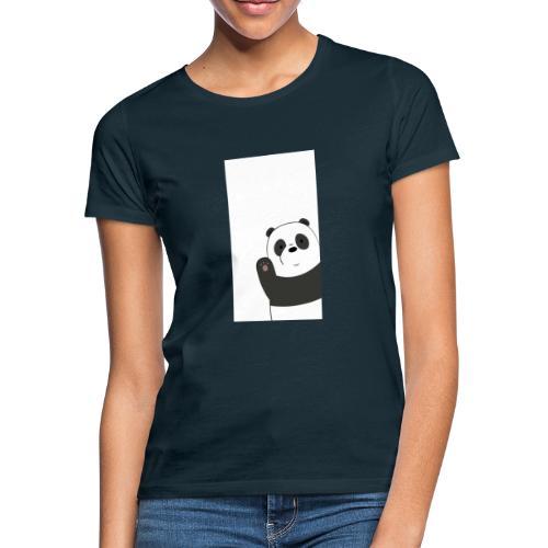 We bare bears panda design - Vrouwen T-shirt