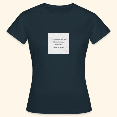 Gâteau - T-shirt Femme