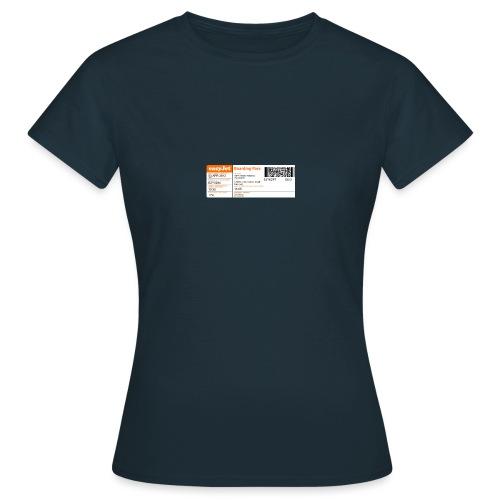 biglietto aereo - Maglietta da donna