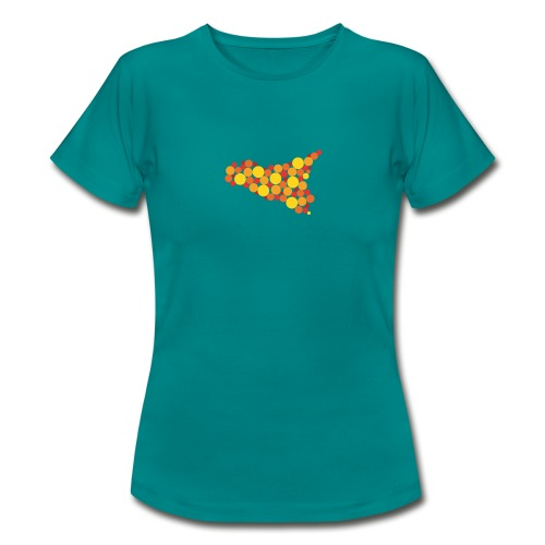 logo sicilia piccolo - Maglietta da donna