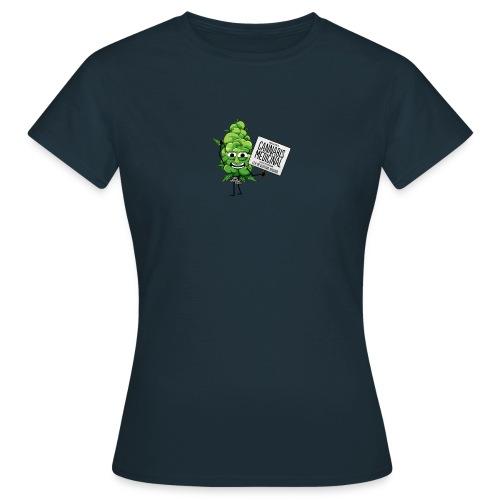 cannabis medicinal - T-shirt Femme