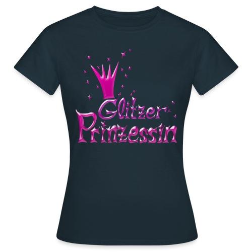 Rosa Glitzer Prinzessin - Frauen T-Shirt