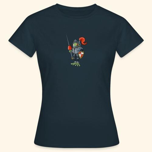 Sir Lance-a-frog Mascot - Women's T-Shirt
