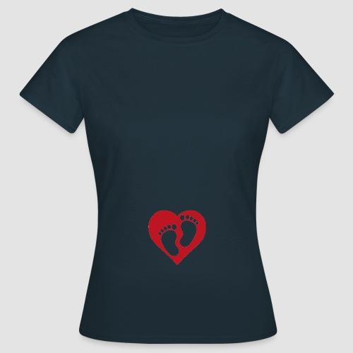 Bebis på väg - T-shirt dam