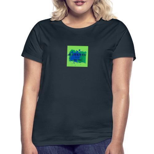 darkyek design green - Camiseta mujer
