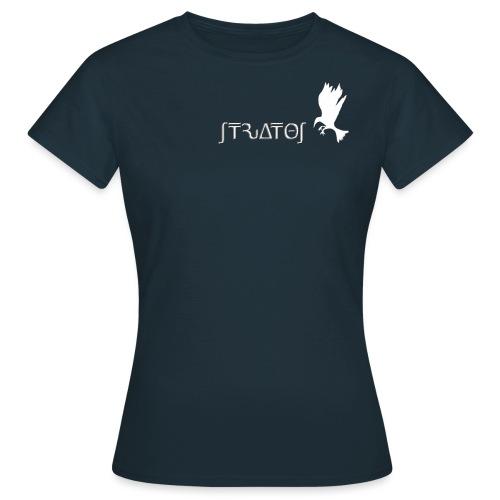 stratos crow white - Women's T-Shirt