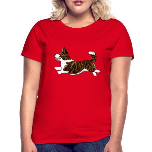 Welshcorgi7 - Naisten t-paita