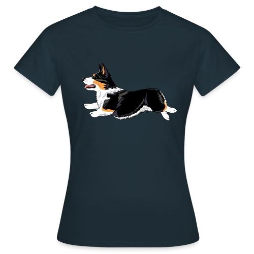 Welshcorgi2 - Naisten t-paita
