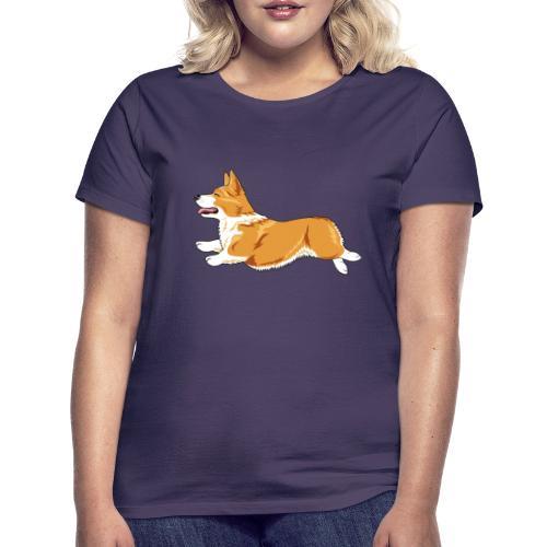 Welshcorgi4 - Naisten t-paita