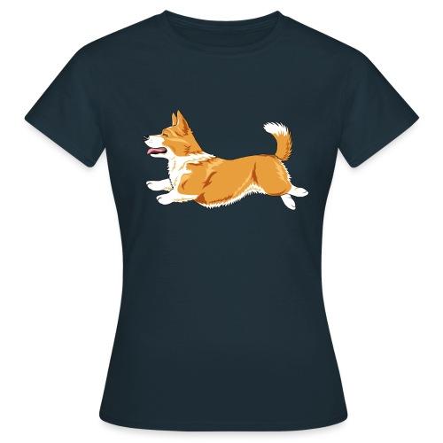 Welshcorgi3 - Naisten t-paita