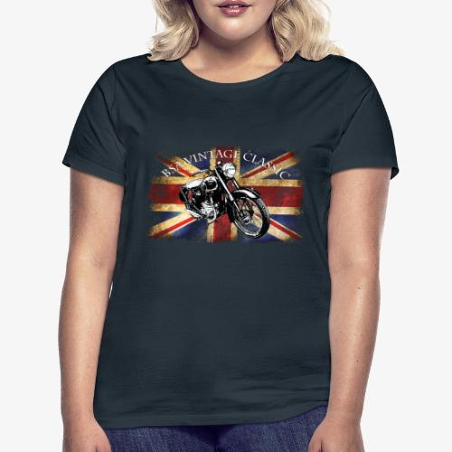 Vintage famous Brittish BSA motorcycle icon - Women's T-Shirt