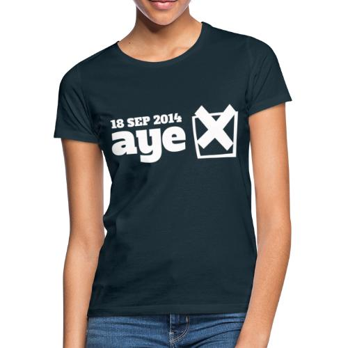 Vote Aye - Women's T-Shirt