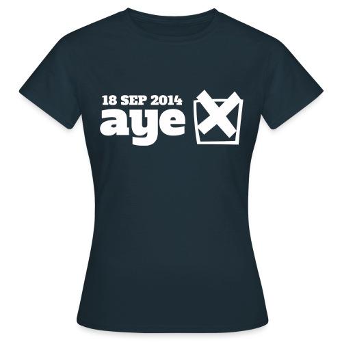 Vote Aye - Women's T-Shirt