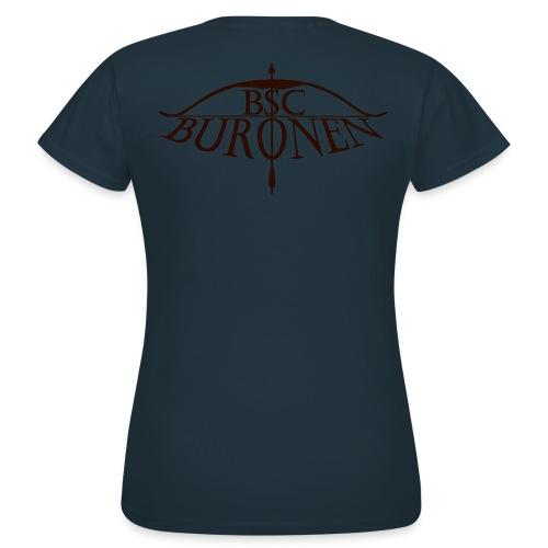 bsc buronen schwarz 4 png - Frauen T-Shirt