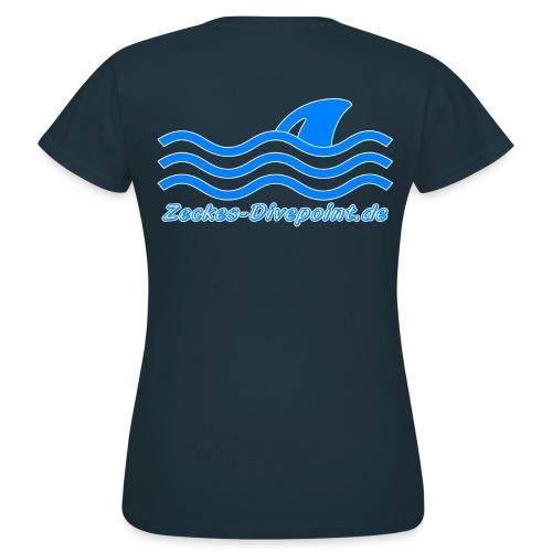 ZD_Logo_Text - Frauen T-Shirt