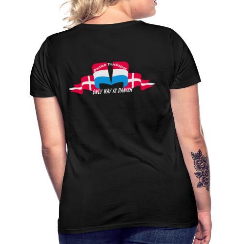 Danish Truckspot (sorte trøjer - Dame-T-shirt