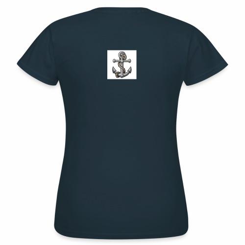 tatuaggio ancora - Maglietta da donna