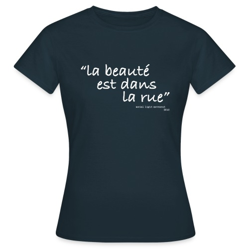 slm la rue white - Women's T-Shirt