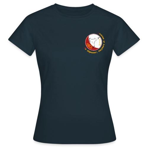 Logo TShirt Blanc png - T-shirt Femme
