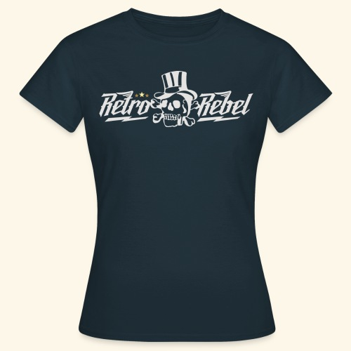 rebelkinglght png - Dame-T-shirt