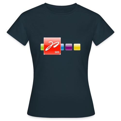 test multicolorlogo 4c orig - Frauen T-Shirt