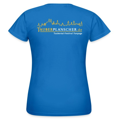 tauberplanscher logo 2c 265x105 - Frauen T-Shirt