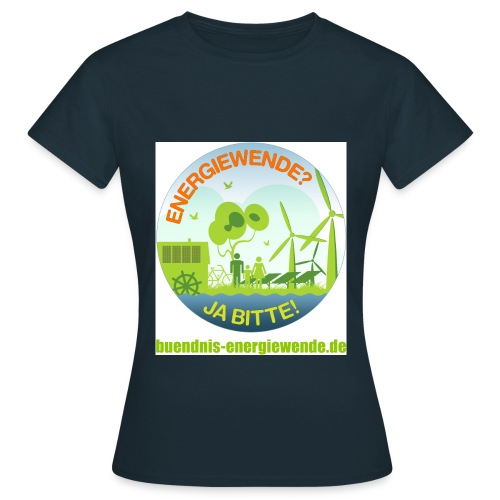 Buendnis Energiewende Button 1 4000px png - Frauen T-Shirt