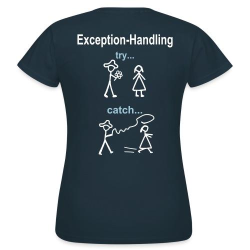 Try-Catch-Java-Code - Frauen T-Shirt