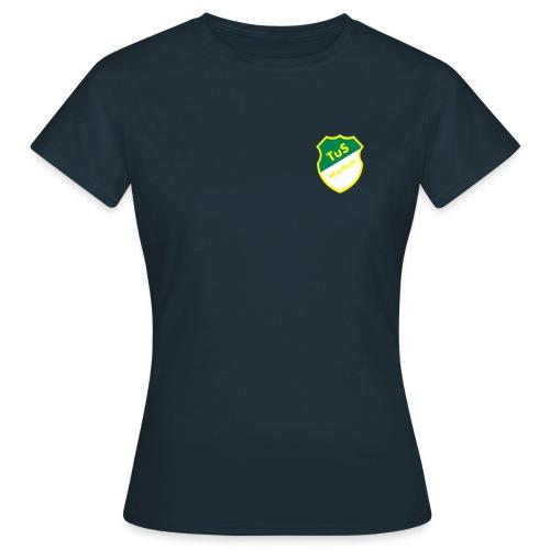 Schriftzug Rücken - Frauen T-Shirt