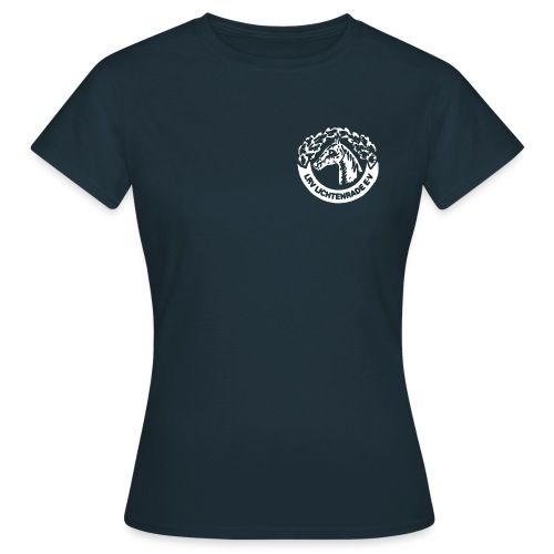 LRV_logo_white - Frauen T-Shirt
