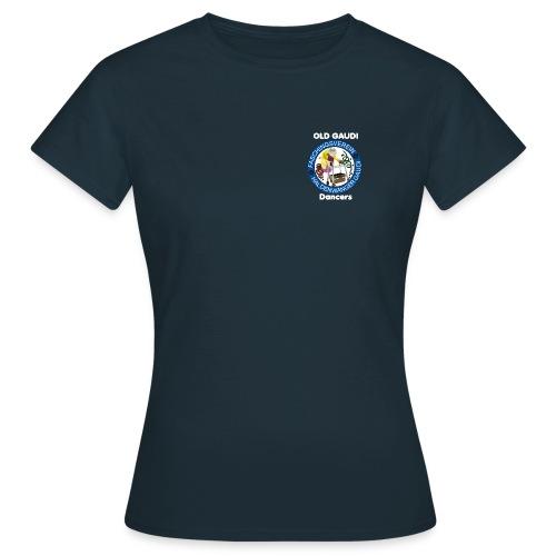 old gaudi dancers dunkler hintergrund png - Frauen T-Shirt