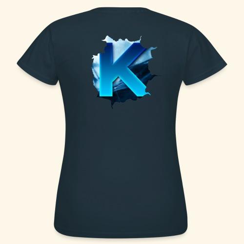 Kivvix Logga 1st Edition - T-shirt dam