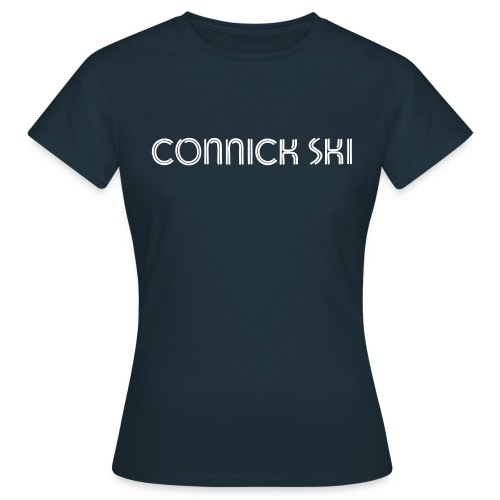 connick ski text - Women's T-Shirt