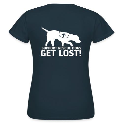 Rettungshunde - Frauen T-Shirt
