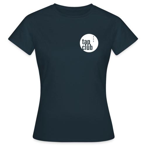 tap club logo - Frauen T-Shirt