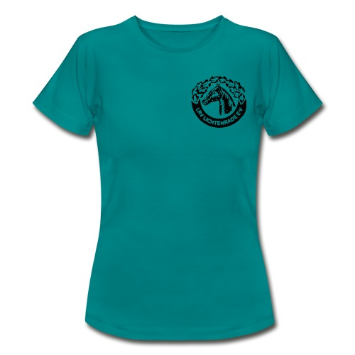 horse_logo_bag - Frauen T-Shirt