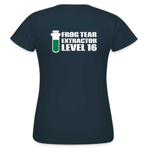 Frog Tear Extractor - Frauen T-Shirt