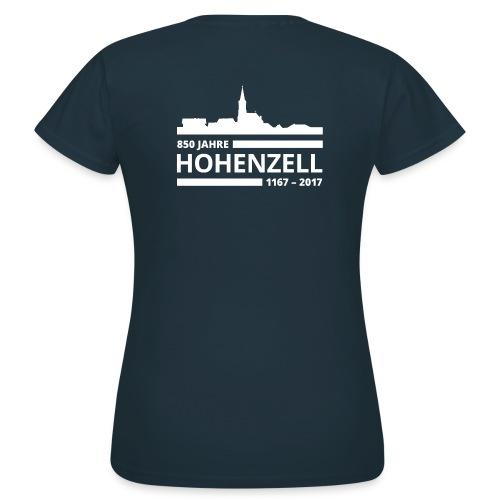 850 Jahre Hohenzell Logo vFINAL png - Frauen T-Shirt