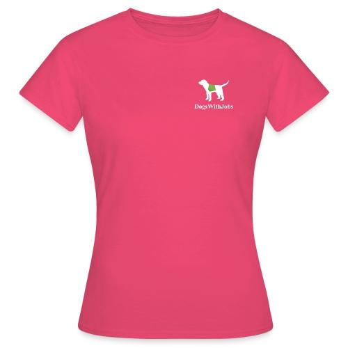 dwj weiss2b png - Frauen T-Shirt