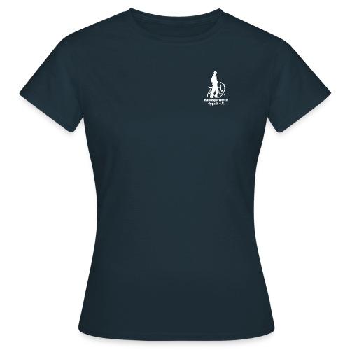 Hund_weiss - Frauen T-Shirt