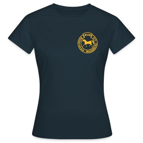 RVW Gelb Brust Vector - Frauen T-Shirt