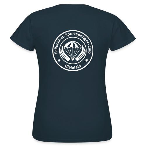 FSC Logo weiß gif - Frauen T-Shirt