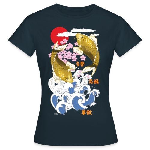 yamatotamashii tshirt 12 png - Maglietta da donna