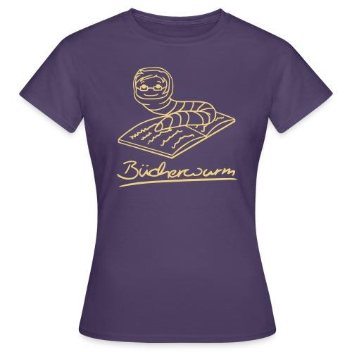 Bücherwurm 1 - Frauen T-Shirt