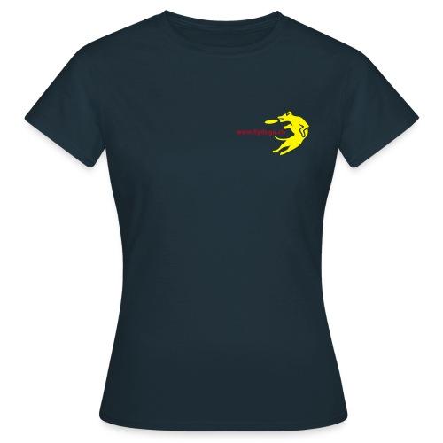 flydogslogo - Frauen T-Shirt