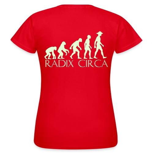 logo RC met tekst - Vrouwen T-shirt