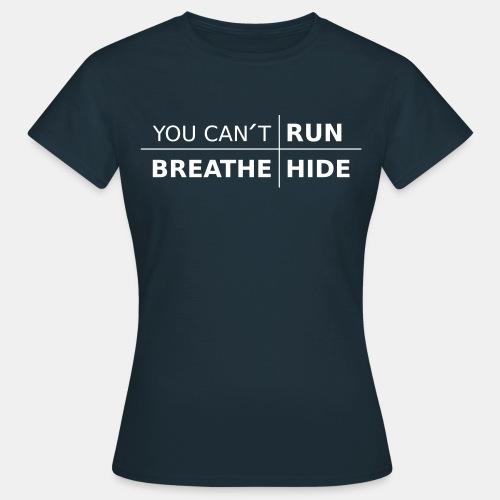 youcant+ vektor - T-shirt dam